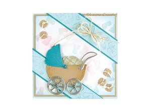 Leane Creatief - Lea'bilities Punching - and embossing template: Themes Baby