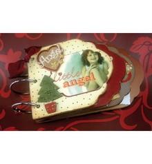 Objekten zum Dekorieren / objects for decorating Scrap Book Vintage, A6