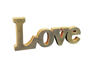Objekten zum Dekorieren / objects for decorating Dekoration ord: LOVE