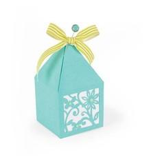 Sizzix Troquelado y estampado en relieve plantilla: Box