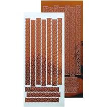 Ziersticker, Spitze Motiv 23 x 10cm