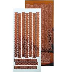 Leane Creatief - Lea'bilities Ziersticker, motivo del merletto 23 x 10cm