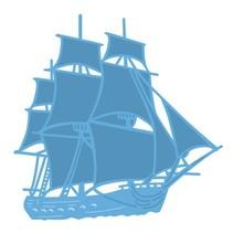 Stansning og prægning skabelon: Skib