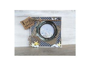 Marianne Design Punching and embossing template: porthole and tax row