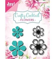 Joy!Crafts und JM Creation Stampaggio e goffratura stencil + timbro: Fiori