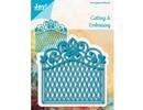 Joy!Crafts und JM Creation Punching and embossing template: decorative frame Vintage Goal