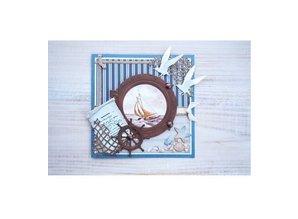 Marianne Design Stansning og prægning skabelon: Ropes