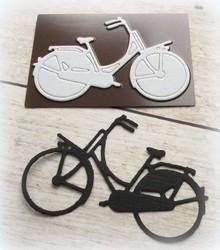 Joy!Crafts und JM Creation Stansning og prægning skabelon: cykel