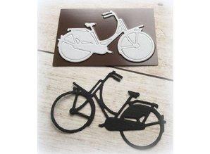 Joy!Crafts und JM Creation Troquelado y estampado de plantilla: bici