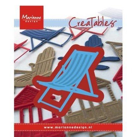 Marianne Design Stanz- und Prägeschablone: Liegestuhl