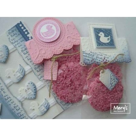 Joy!Crafts und JM Creation Joy Crafts, Noor! Design, Baby, 105x148 mm, 12 Baby Mønstre