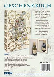 BASTELSETS / CRAFT KITS: Bastelpackung: gift book flowerart