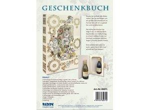 BASTELSETS / CRAFT KITS: Bastelpackung: Geschenkbuch FlowerArt