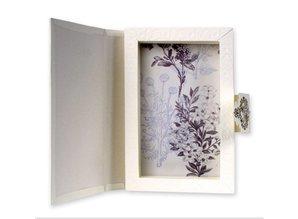 BASTELSETS / CRAFT KITS: Bastelpackung: regalo libro Flowerart