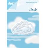 Joy!Crafts und JM Creation Stanz- und Prägeschablone: 3 Wolke