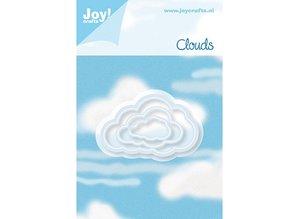 Joy!Crafts und JM Creation Stansning og prægning skabelon: 3 Cloud
