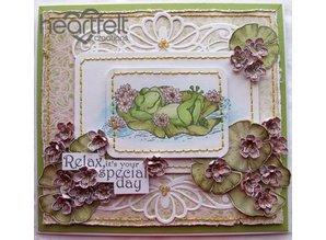 Heartfelt Creations aus USA EXCLUSIVE HEARTFELT aus den USA! Stempel Set: Winking Frogs