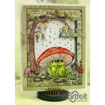 EXCLUSIVE HEARTFELT from the USA! Stamp Set: Flirting Frogs