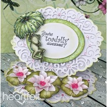 EXCLUSIVE HEARTFELT from the USA! Stamp Set: Water Lily