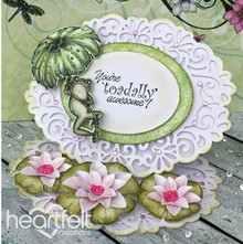 Heartfelt Creations aus USA EXCLUSIVE HEARTFELT from the USA! Stamp Set: Water Lily