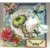 EXCLUSIVE HEARTFELT from the USA! Stamp Set: Froggy Hangout