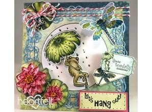 Heartfelt Creations aus USA EXCLUSIVE HEARTFELT aus den USA! Stempel Set: Froggy Hangout