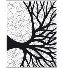 embossing Präge Folder Goffratura Folder Tree Silhouette