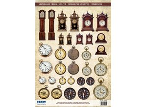 Embellishments / Verzierungen Die cut sheets Watches