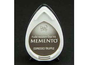 FARBE / INK / CHALKS ... Memento dugdråber stempel blæk InkPad Espresso Truffle
