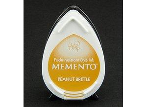 FARBE / INK / CHALKS ... Memento dugdråber stempel blæk InkPad-Peanut Brittle