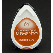 MEMENTO DewDrops Stempeltinte, InkPad-Potters Clay