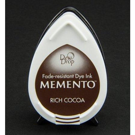 FARBE / INK / CHALKS ... Memento dugdråber stempel blæk InkPad-Potters Rich Cocoa