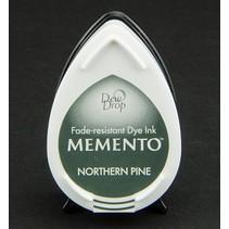 Memento dugdråber stempel blæk InkPad-Potters Northern Pine