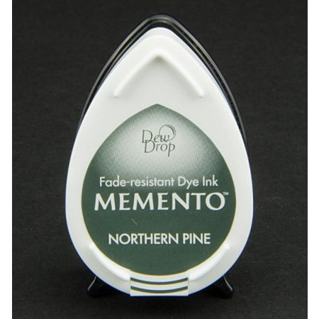 FARBE / INK / CHALKS ... MEMENTO DewDrops Stempeltinte, InkPad-Potters Northern Pine