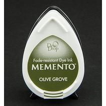 gocce di rugiada MEMENTO timbro a inchiostro InkPad Olive Grov