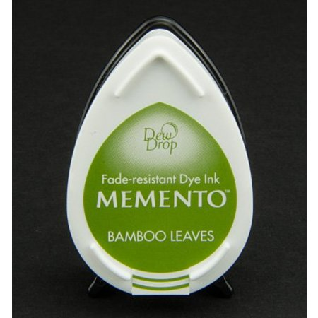 FARBE / INK / CHALKS ... MEMENTO DewDrops Stempeltinte, InkPad-Bamboo Leaves