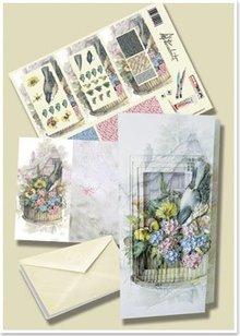 BASTELSETS / CRAFT KITS: Bastelset for blomster tænger: designs fra Staf Wesenbeek