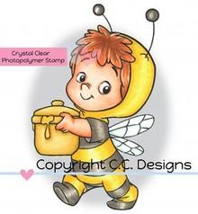 C.C.Designs Transparent Stempel, Bee Henry