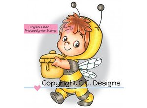 C.C.Designs Transparent stamps, Bee Henry