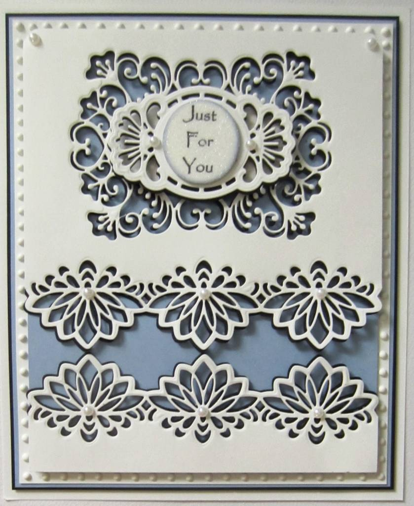 Creative Expressions Punching and embossing template: decorative ...