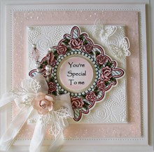 Creative Expressions Stamp Tema: Rose Retro