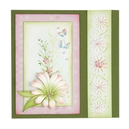 Leane Creatief - Lea'bilities Sellos transparentes, rama con hojas