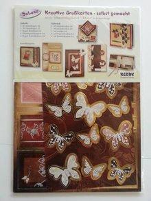 "Exlusiv Kartenset DeLuxe ""Schmetterlinge 2"""
