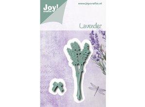 Joy!Crafts und JM Creation Troquelado y estampado en relieve plantilla: Lavanda