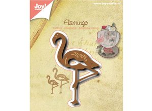 Joy!Crafts und JM Creation Stansning og prægning skabelon: Flamingo