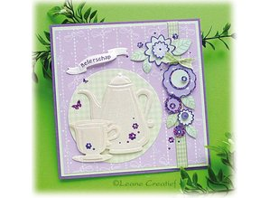 Leane Creatief - Lea'bilities Punching - and embossing stencil