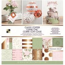 Classy Copper Premium Stack, Designerblock