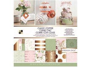 DCWV und Sugar Plum Classy Copper Premium Stack, Designersblock