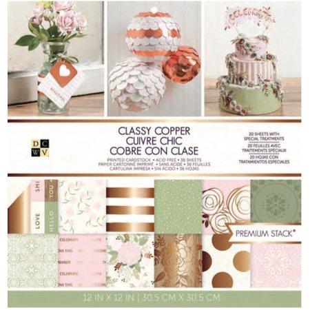 DCWV und Sugar Plum El cobre de primera calidad con clase Pila, Designersblock