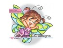 C.C.Designs sellos transparentes, Twilla mariposa